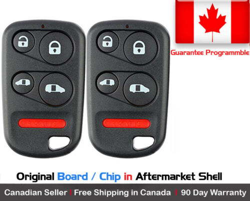 2x New Replacement Keyless Entry Remote Control Key Fob For Honda OUCG8D-440H-A