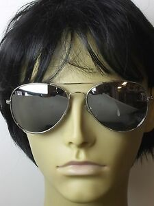 634dfa329a5 Sunglasses Aviator Men Mirror Lens Metal Frame Retro Fashion Glasses ...