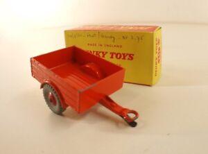 Dinky Toys Gb 341 Land Rover Trailer Remorque En Boîte
