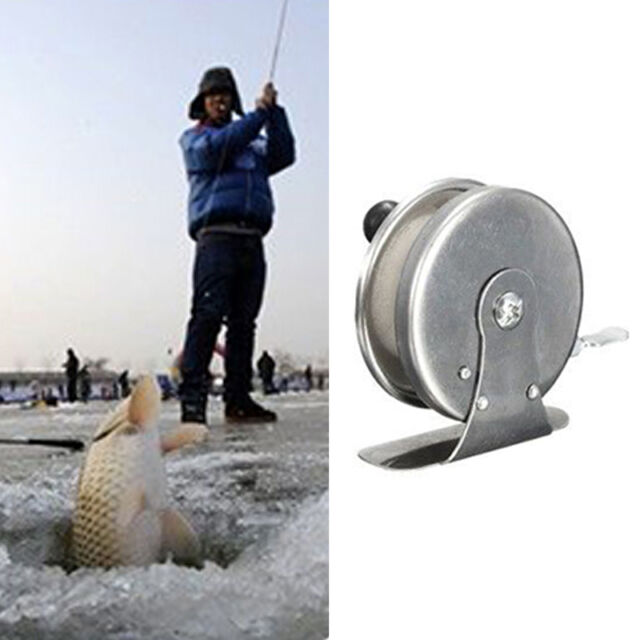 Aluminum Alloy Saltwater Sea Ice Fishing Spinning Reels Gear High Speed JR
