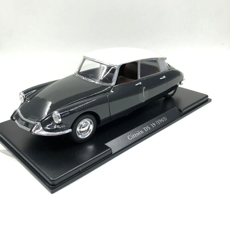 1 24 LEO 1963 Citroen DS19 Die Cast Model