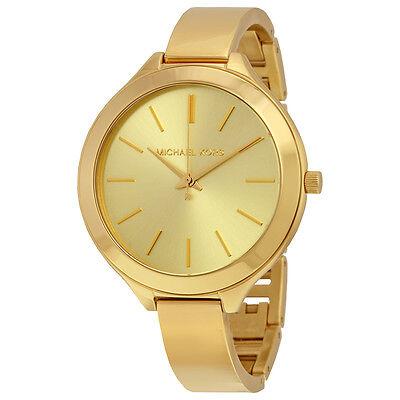 Michael Kors Slim Runway Gold-tone Ladies Watch MK3275