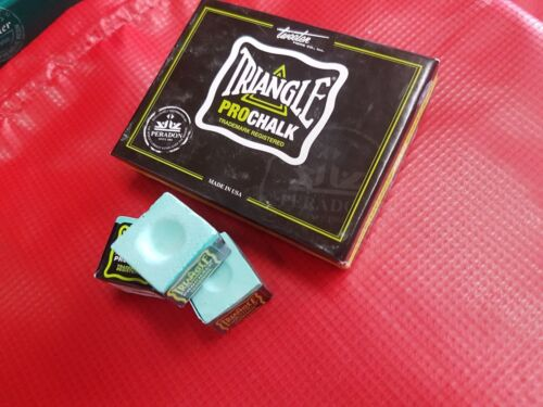 New! Triangle Pro LIGHT Snooker/Pool Chalk - 3 Cubes