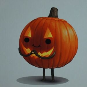 Current Mood #3-2016 Mike Mitchell poster print pumpkin