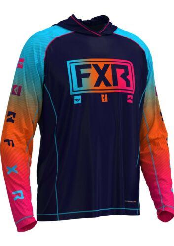"FXR Men/'s /""Pro Fish/"" Cast UPF Lite Pullover Hoodie 202088"
