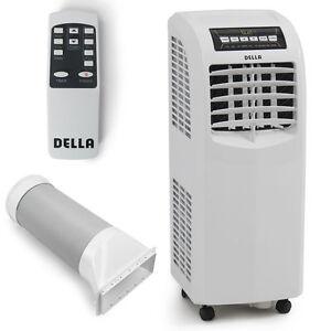 della 8000 btu portable air conditioner white ebay