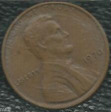 Estados Unidos USA 1 lincoln cent 1970 km # 201
