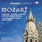 Mozart: Requiem; Masses; Vespers; Sacred Choral Works (CDs 1-3 of 11) (CD, Oct-2011, 9 Discs, Brilliant Classics)