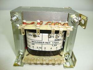 TRANSFORMADOR-DE-RADIO-ANTIGUA-275-0-275MA-40VA-PARA-4-VALVULAS-R1-17051-2