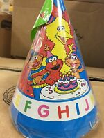 Sesame Street Party Alphabet Hats (8-pack) Party Supplies