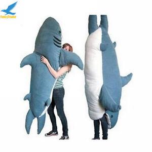 Excellent Details About Fancytrader Huge Giant Shark Sleeping Bag Beanbag Sofa Bed Plush Stuffed 2 Color Inzonedesignstudio Interior Chair Design Inzonedesignstudiocom