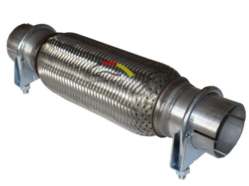 Flexrohr Wellrohr Vorderrohr Rohr Montage ohne Schweißen für Opel Corsa B C D