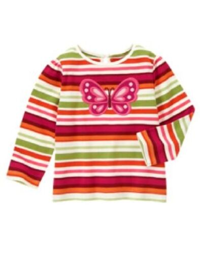 NWT Gymboree Baby Toddler Girl TEES TOPS Options #1 5 or more ships free
