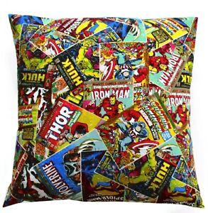 Captain-Marvel-Thor-Iron-man-Hulk-Pillow-Case-Envelope-Wolverine-Home-Made-New