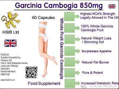 Affidabile Garcinia Cambogia Pillole Dimagranti/max Strength/appetito Surpressant/850mg Megasize-ite Surpressant /850mg Megasize It-it Rinfrescante E Arricchente La Saliva