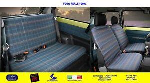 Coprisedili Fiat Panda 4X4 dal  1986>2003 fodere auto su misura copri sedili