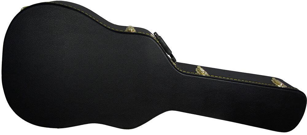 Ashbury Dreadnought Gitarre Hard Koffer 5 Ply Harwood Gehäuse von Hobgoblin
