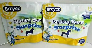 2-PACK-Breyer-MYSTERY-HORSE-SURPRISE-STABLEMATES-Sealed-Blind-Bags-NEW-6039
