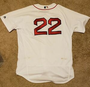 official photos 477cd d2d91 Details about Rick Porcello Game Used Boston Red Sox Home Jersey MLB Auth'd  & Photo Matched