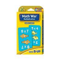 Math War Multiplication Game Cards Free Shipping