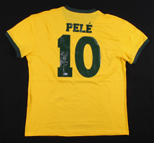 Pele Signed Brazil Soccer Number 10Autographed Sport Memorabilia