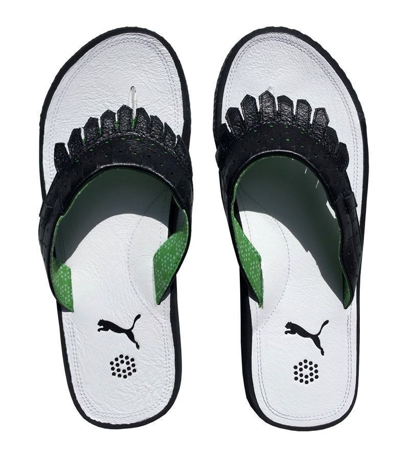 PUMA BUNKIE MENS GOLF FLIP POOL FLOPS POOL FLIP SHOES 59ff5e
