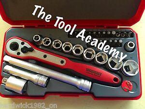 Teng-Tools-Super-Saver-34-PCE-3-8-Unita-Ratchet-Socket-Extension-Tool-Set