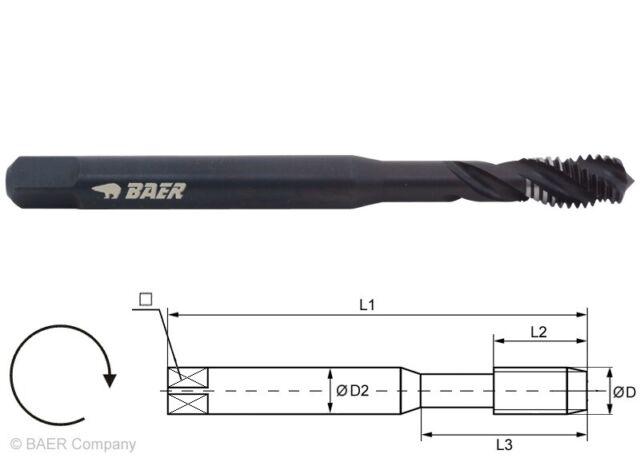 Gewindebohrer Gewindeschneider Maschinengewindebohrer Sacklochgewinde M12 HSS-E