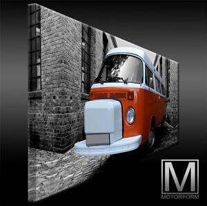 vw bus bulli t2 camper volkswagen westfalia echte leinwand. Black Bedroom Furniture Sets. Home Design Ideas