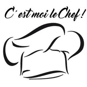 Sticker Decoration Cuisine Toque Du Chef Texte C Est Moi Le