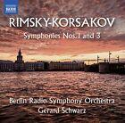 Nikolai Rimsky Korsakov - Symphonies Nos. 1 & 3 CD