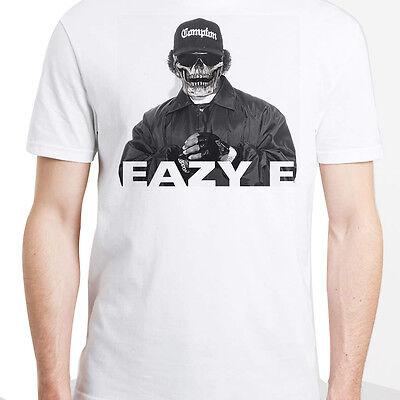 Mens Eazy E rapper t shirt NWA ICE CUBE BIG LILwayne swag top hip hop womens top