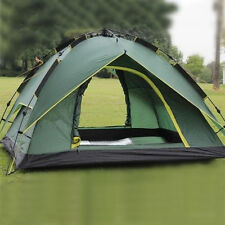 Instant Hiking Automatic Pop Up Camping Tent Backpacking Green