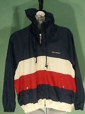 RARE Vtg - Polo Sport Ralph Lauren Colorblock Windbreaker Jacket (XL)
