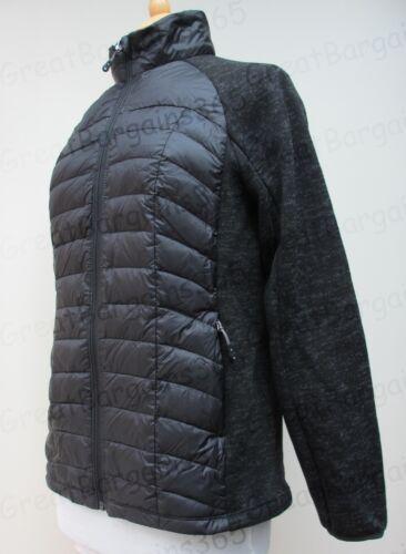 Ladies resistente alle intemperie 32 gradi giacca cappotto manica lunga pieghevole verso il basso S M L XL