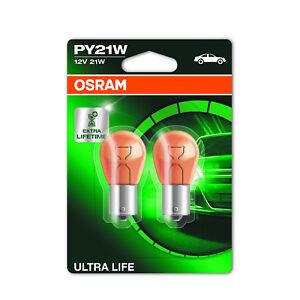 2x Fiat Ducato 230L Genuine Osram Ultra Life Side Indicator Light Bulbs Pair