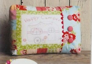 PATTERN-Happy-Camper-fun-stitchery-pillow-PATTERN-This-amp-That