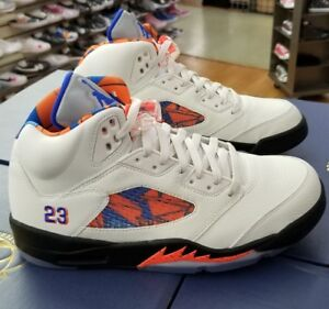 big sale 20902 3d154 Image is loading AIR-JORDAN-5-RETRO-MEN-039-S-SAIL-