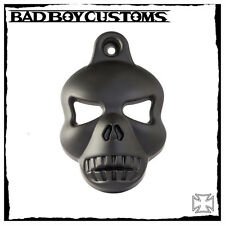 Hupencover Motorrad Harley Davidson V-Rod Night Rod Muscle Skull BBC 029 schwarz