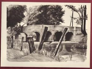 Print Bridge at Cardington Maurice de Sausmarez - <span itemprop=availableAtOrFrom>Stratford-upon-Avon, United Kingdom</span> - Returns accepted within 14 days please email first so we can resolve any issue. Most purchases from business sellers are protected by the Consumer Contract Regulations 2013 wh - Stratford-upon-Avon, United Kingdom