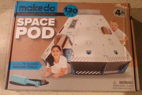 Makedo Space Pod Cardboard Construction 4 Ft Tall