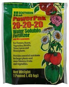100% Vrai 20-20-20 Powerpak Soluble Dans L'eau Fertilisant - 0.5kg