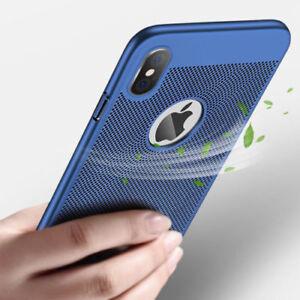 Pour-Iphone-Xs-Max-XR-X-8-7-Resistant-aux-Chocs-Respirant-Rigide-Slim-Ultra-Fine