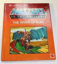 "C1985 MOTU He-Man ""The River of Ruin"" By Golden Book"