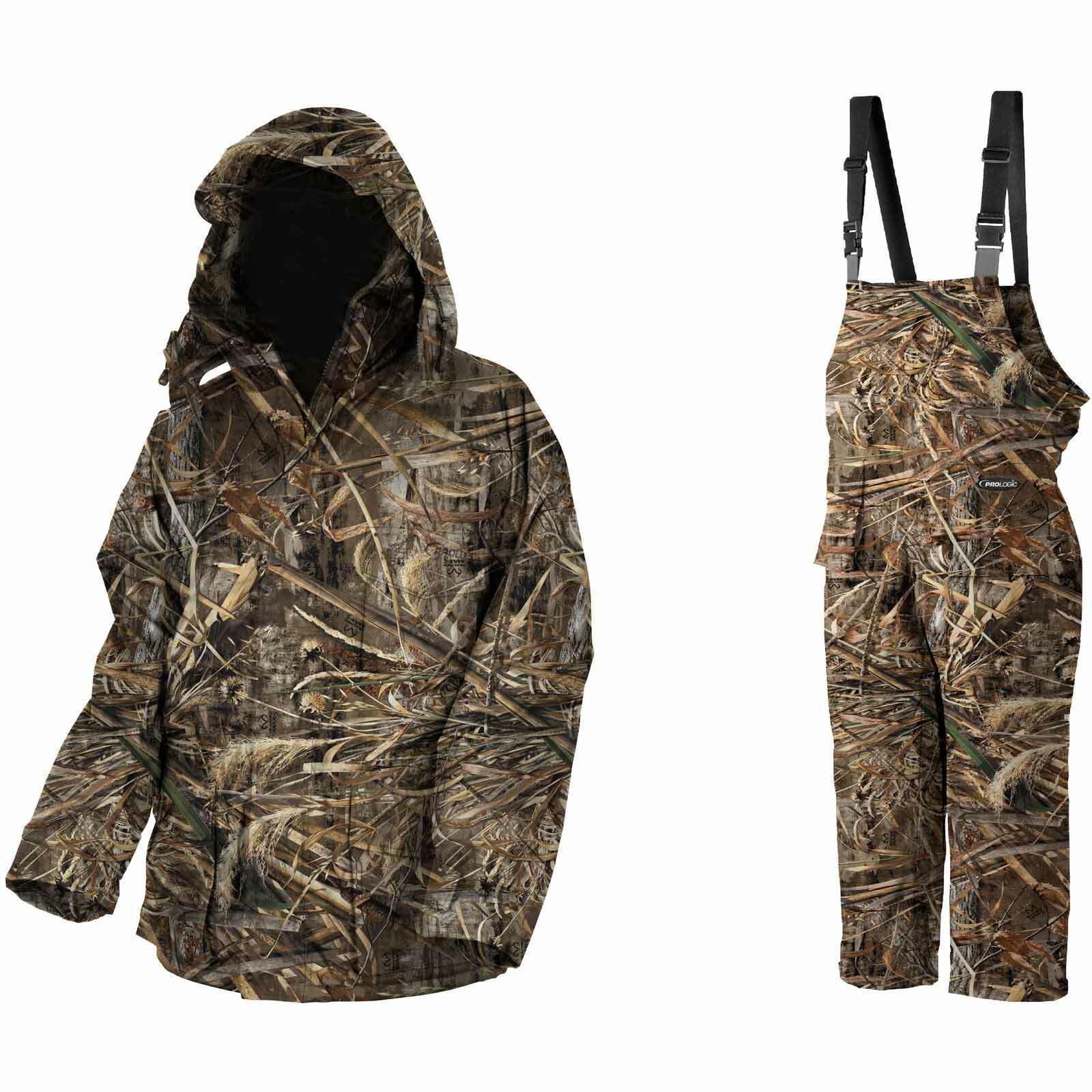 Traje de invierno de pesca proLogic - Max5 confort termo traje de 2 piezas - talla XL.