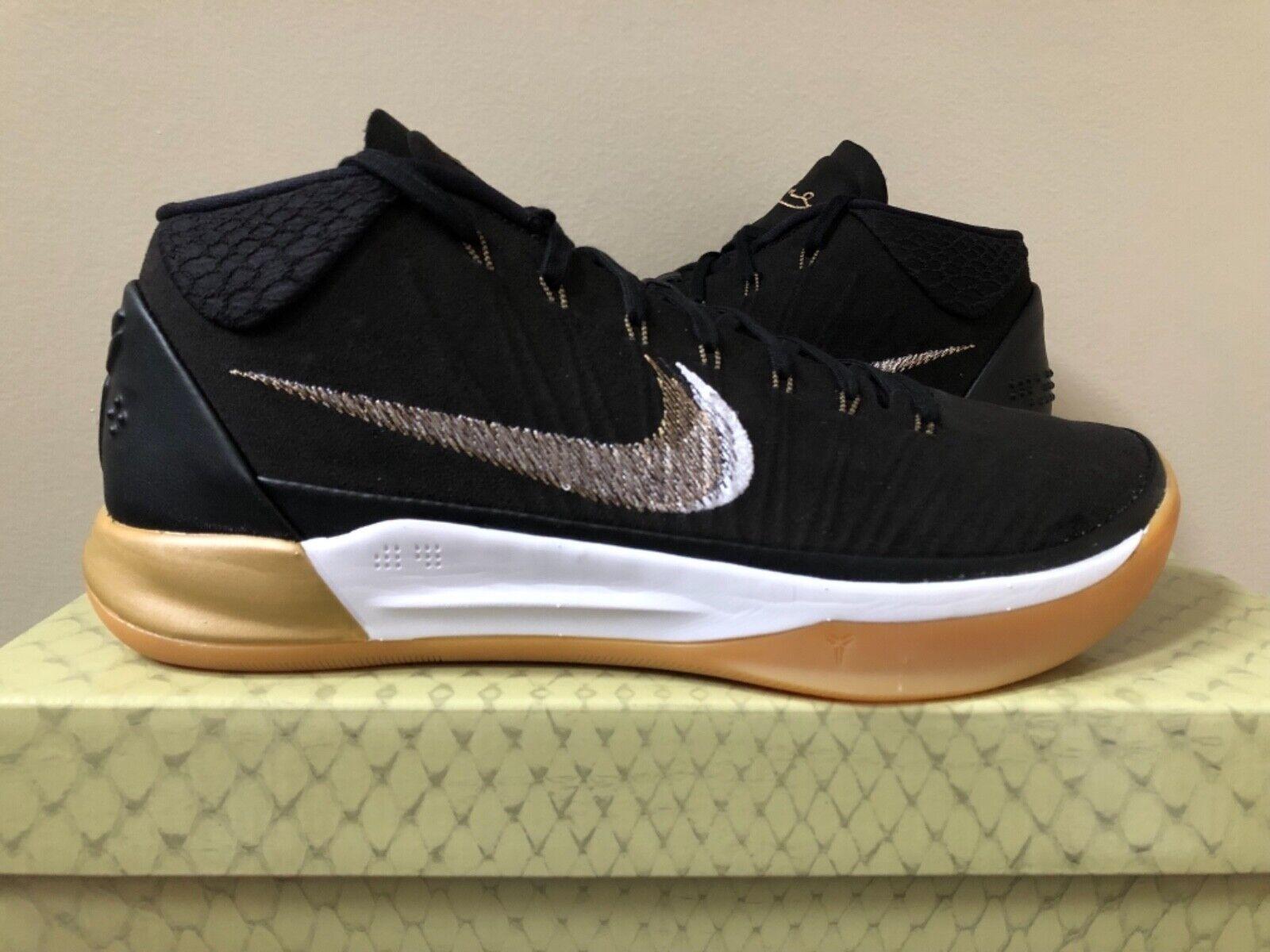 Nike Kobe AD Mid Black Gum 922482-009 922482-009 922482-009 Size 9-11 100% Authentic 3f158d