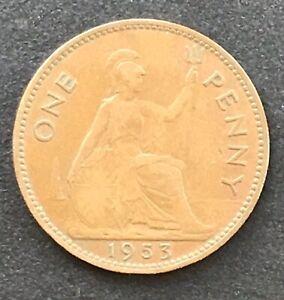1953-Elizabeth-II-Penny
