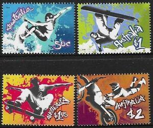 MUH Extreme Sports 2006 Australian Stamp Set
