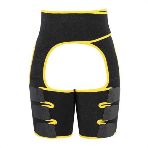 Neoprene Waist Trainer Sweat Shapewear Slim Belt Thigh Trimmer Leg Muscles Band