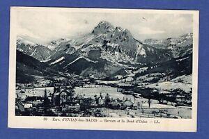 Al-CPA-Evian-les-Bains-gt-Bernex-et-la-Dent-d-039-Oche-gt-Haute-Savoie-74-1936